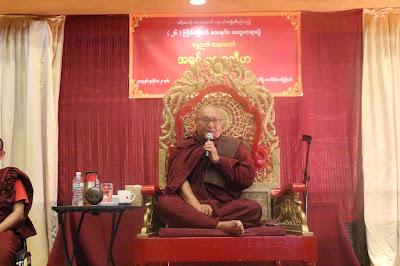 Shwe Nya Dhamma Talk in Fremont, SF Bay Area