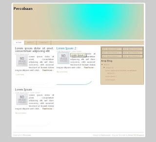 Template Blog SEO Friendly 2013 Terbaru