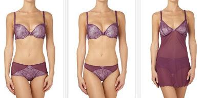 Conjuntos de lencería en color violeta