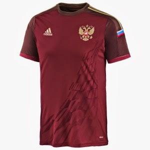 Kostum Timnas Rusia Piala Dunia 2014