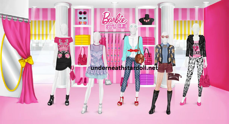 Sneak Peek Barbie Style Club store STARDOLL FREE Underneath