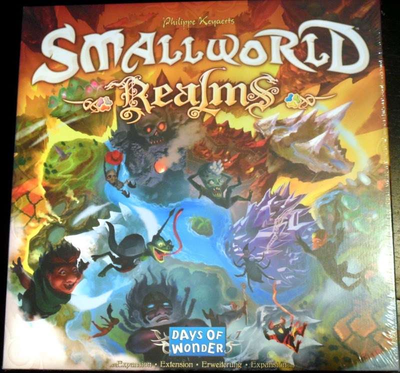 Anatolis Game Room Small World Realms expansion review