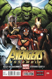 Avengers Assemble #10 Cover