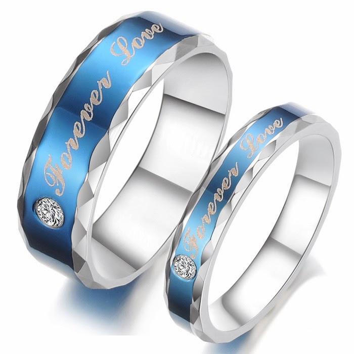 Titanium promise rings