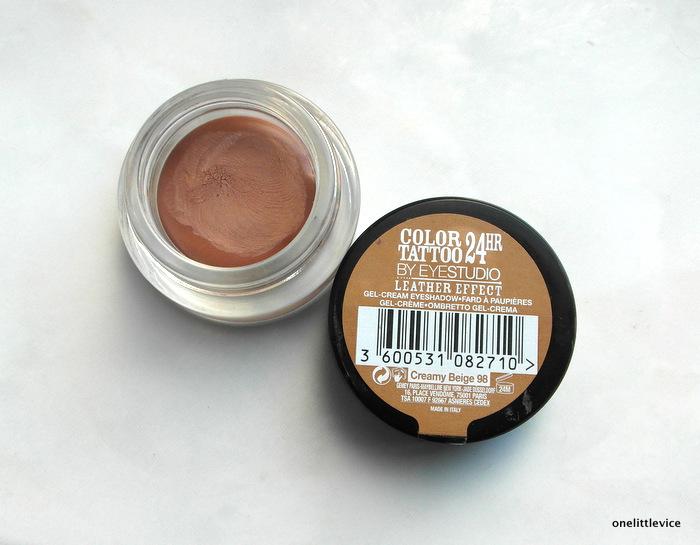 drugstore cream shadow matte brown