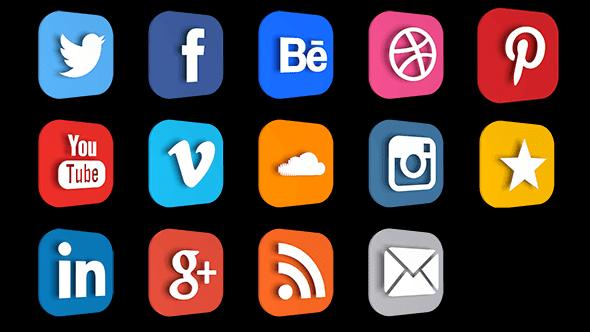 free premium social icon logos