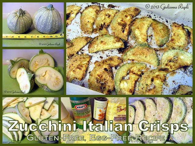 Zucchini Italian Crisps Recipe, Gluten-Free, Egg-Free, Paleo