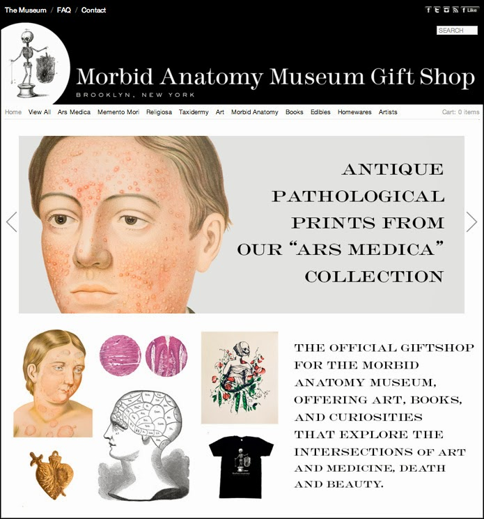 Morbid Anatomy: Just in Time for the Holidays: Announcing the New ...