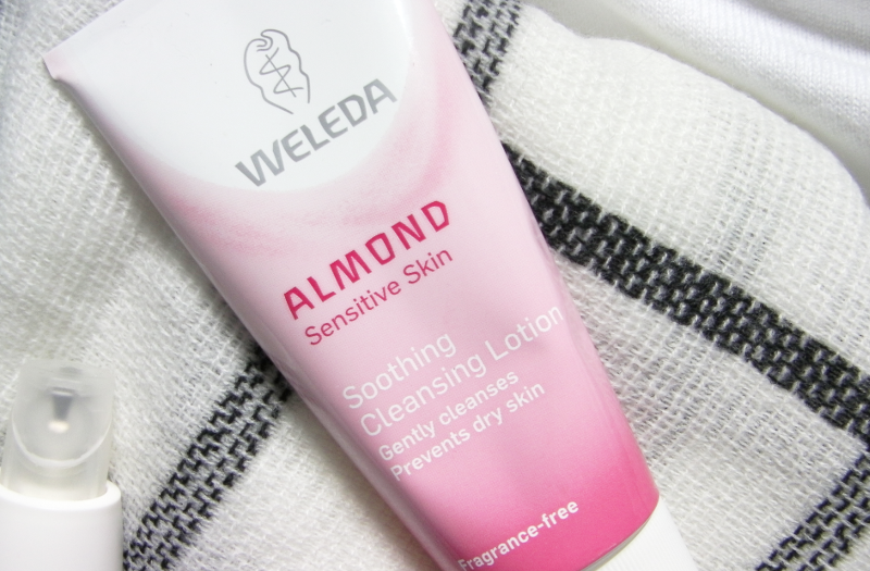 weleda almond soothing lotion sensitive skin review