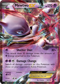 Mewtwo BREAKthrough Pokemon Card