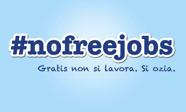 no lavoro gratis figli di papà raccomandati