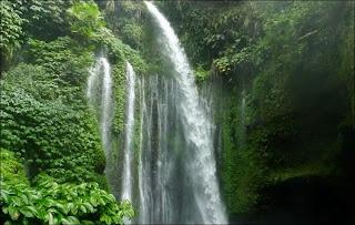 Air Terjun Sendang Gile - 7 Tempat Wisata untuk Liburan di Lombok