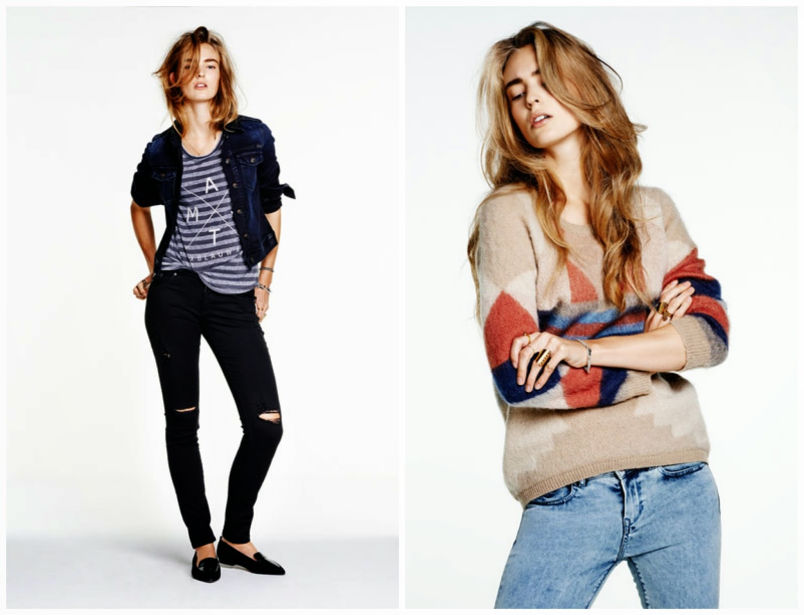 Maison Scotch Fall 2014 Denim Lookbook
