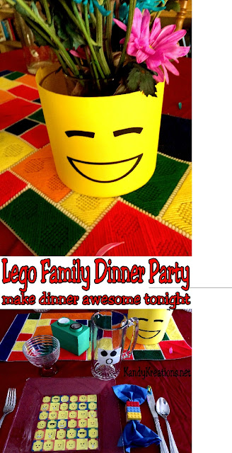 Show your kids that family time can be awesome by throwing them a quick and easy Lego dinner party. With just a few items from the dollar store and a few printables, you can put together a dinner that will have them racing to the table.