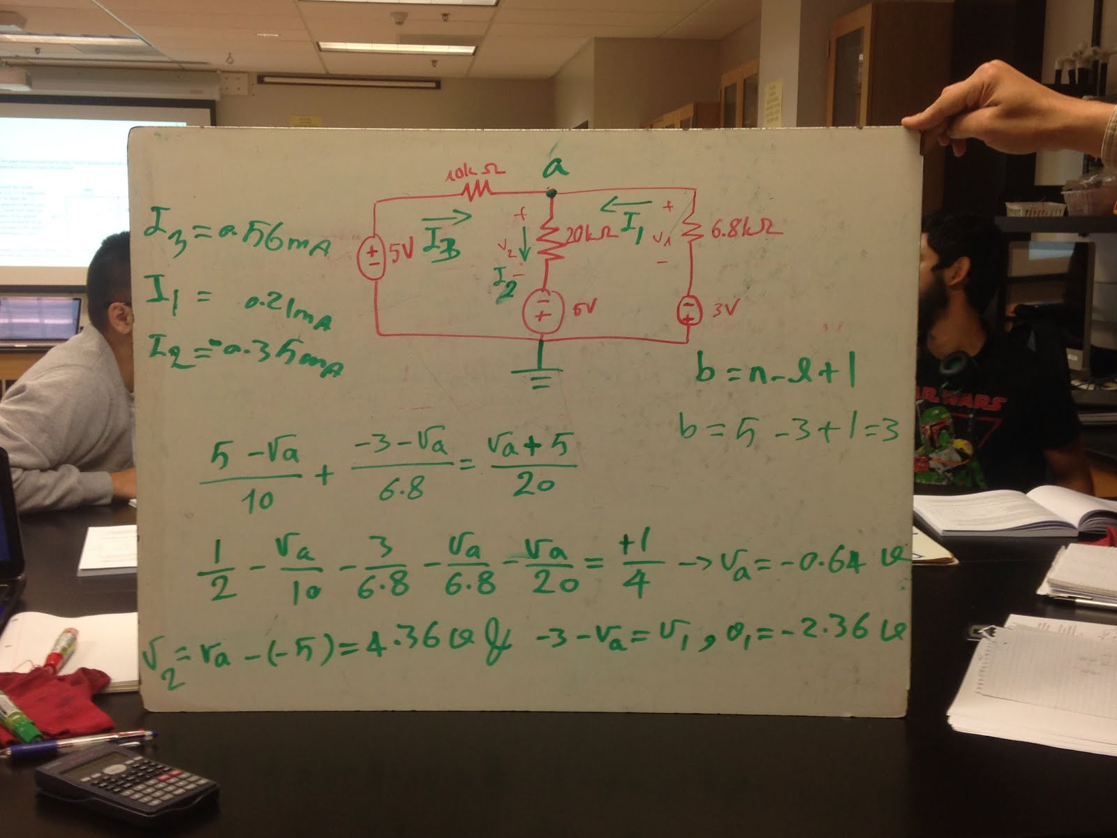 Engineering 44 Tnguyen Day 5 Notes Nodal And Mesh Analysis Circuit Lab