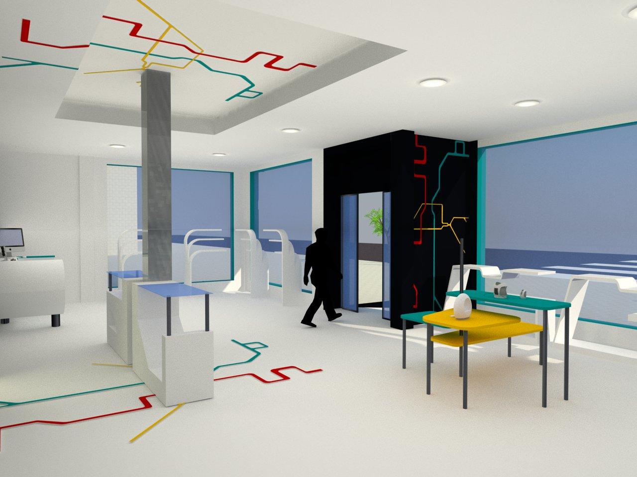Dise o de interiores escuela de arte de motril proyecto - Proyecto diseno de interiores ...