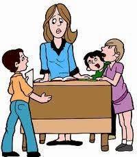 Η δασκάλα μας και εμείς!!