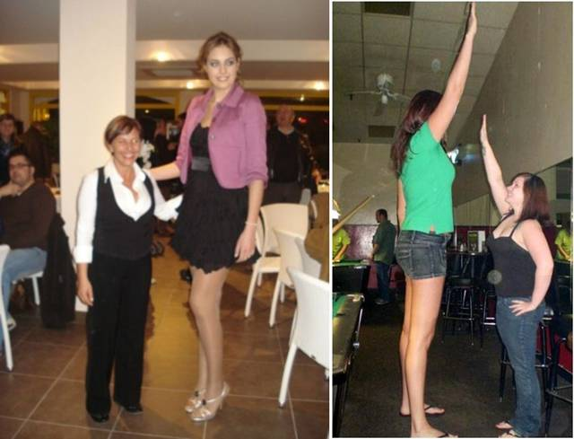 Who is the tallest woman in the world 2013