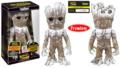 "San Diego Comic-Con 2015 Exclusive Guardians of the Galaxy ""Frosted"" Groot Marvel Hikari Sofubi Vinyl Figure by Funko"