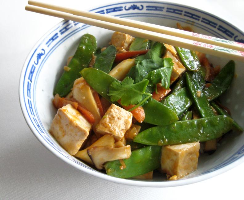 minxeats - recipes, recaps, and restaurant reviews: Tofu Stir-Fry
