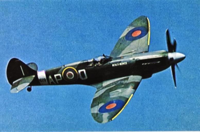 Pesawat tempur Angkatan Udara Inggris (Royal Air Force) pada masa Perang Dunia II