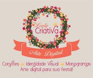 Arte digital, convites, monogramas, brasão, personalizar casamento, personalização festa, lady criativa
