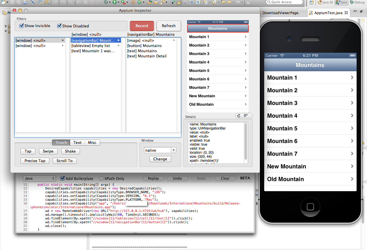 Thumbnail for Appium and automated mobile testing by Isaac