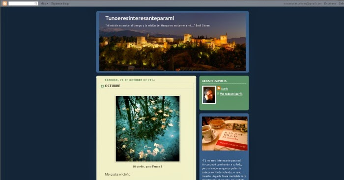 http://tunoeresinteresanteparami.blogspot.com/