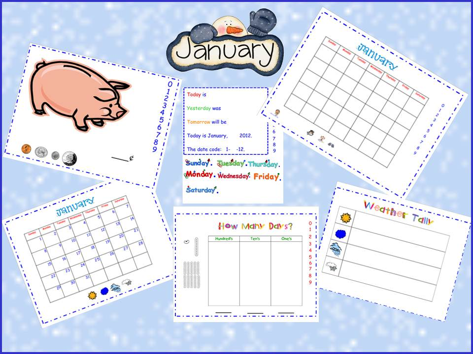 Smartboard Kindergarten Calendar : Smartboard calendar morning meeting using the smart board