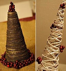 decorações para ceia de Natal - pinheirinho