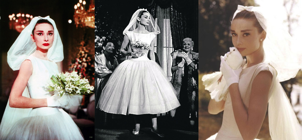 the rhythm of fashion wedding inspiration audrey hepburn