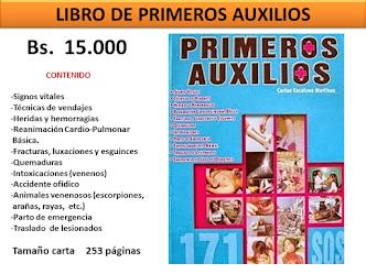 ¡OFERTA! LIBRO DE PRIMEROS AUXILIOS