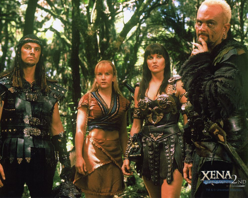 Xena is the warrior queen: actors and roles 40