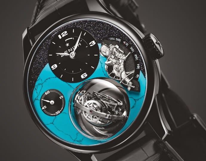 Zenith Academy Felix Baumgartner Amazing Watch