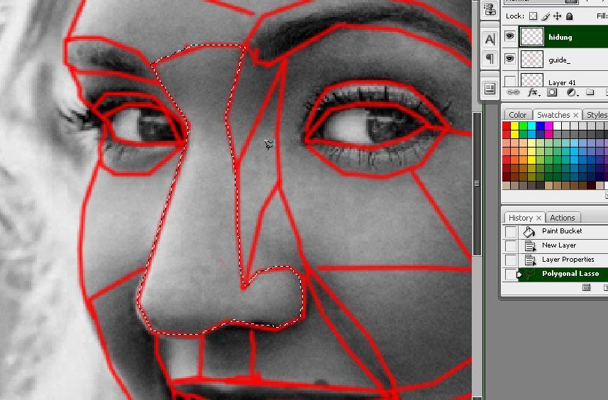 Edit foto wajah jadi warna warni 78