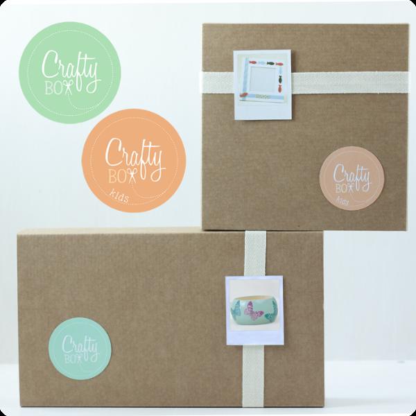 Crafty Box: cajas de manualidades