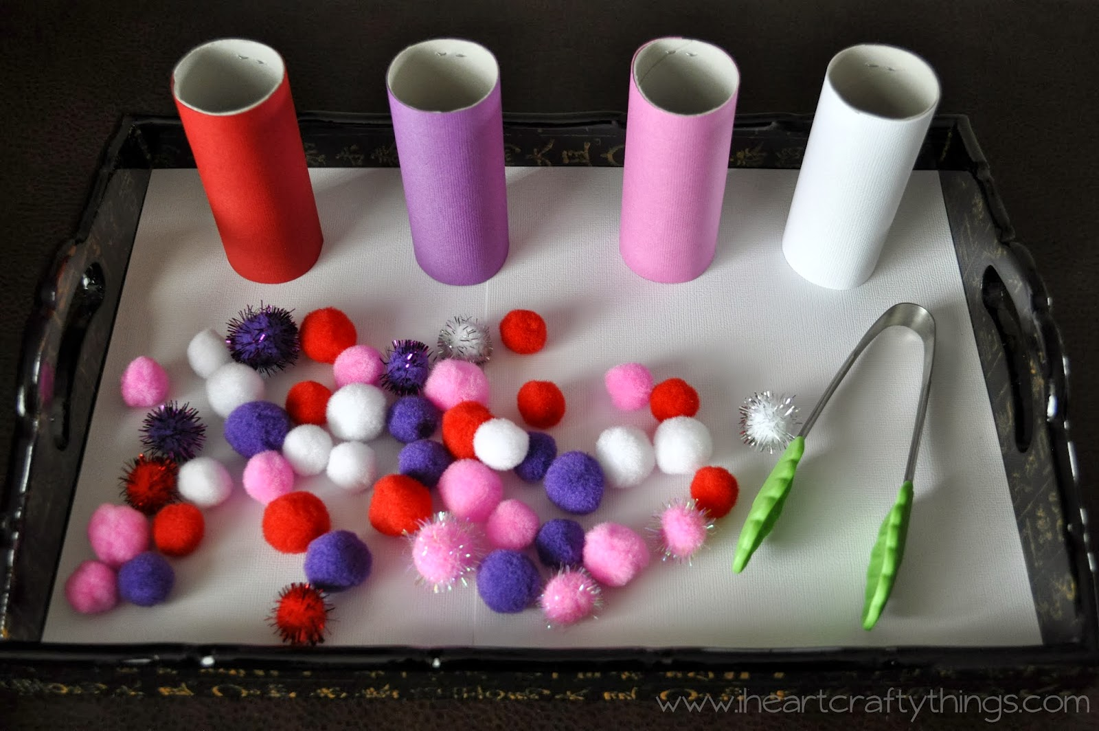 Valentine's Day Activity Trays (Fine Motor, Numbers, Counting ...