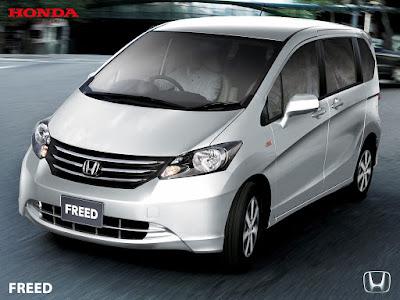 Tampang Baru Honda New Freed Ganti Desain