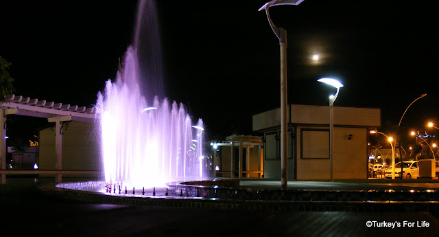 Fountains In Fethiye New Town Square