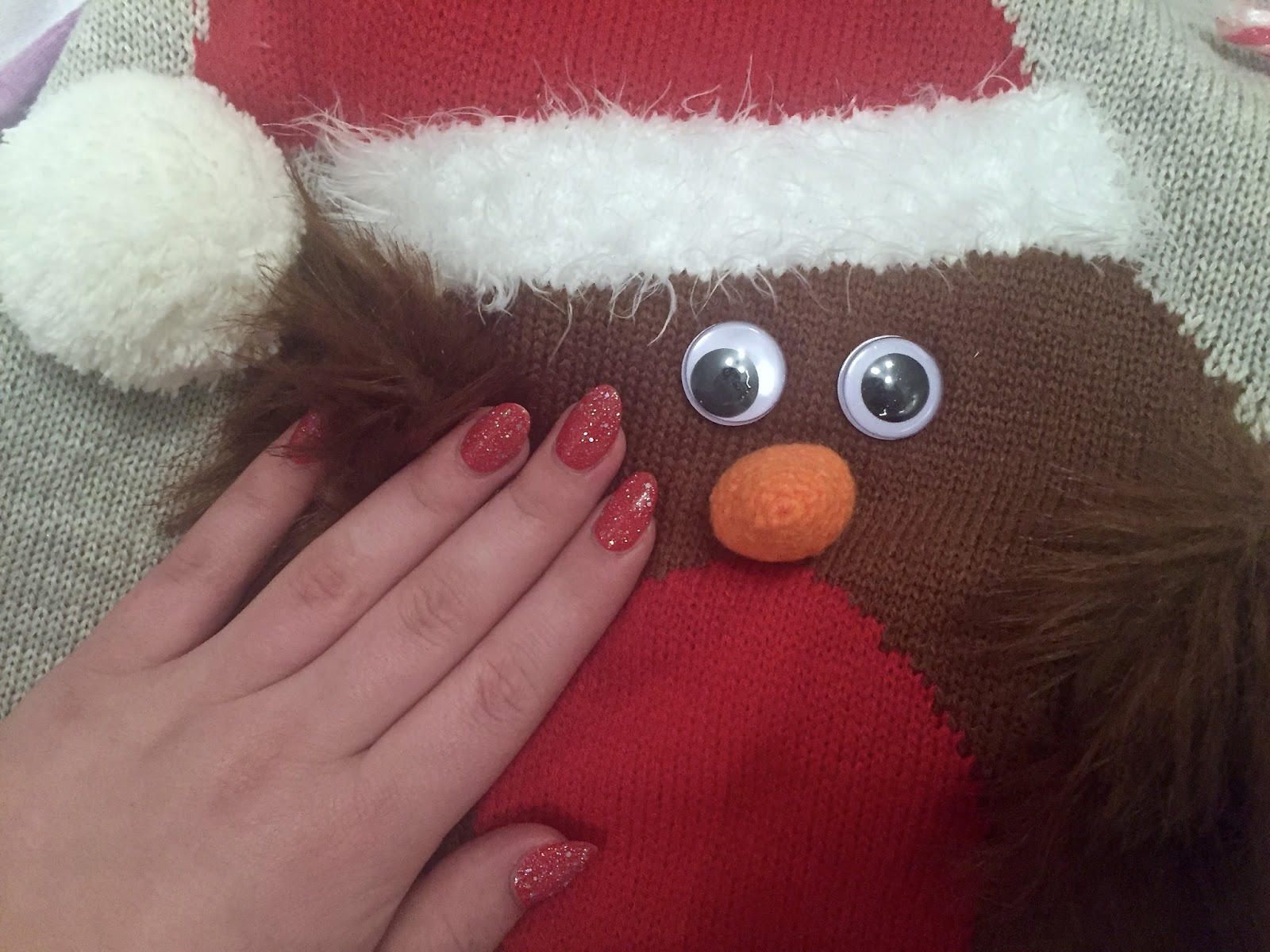 Festive Nails With Barry M