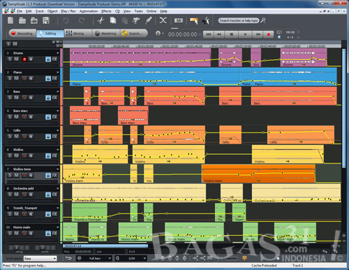 Magix Samplitude 11.5 Producer + Crack 2