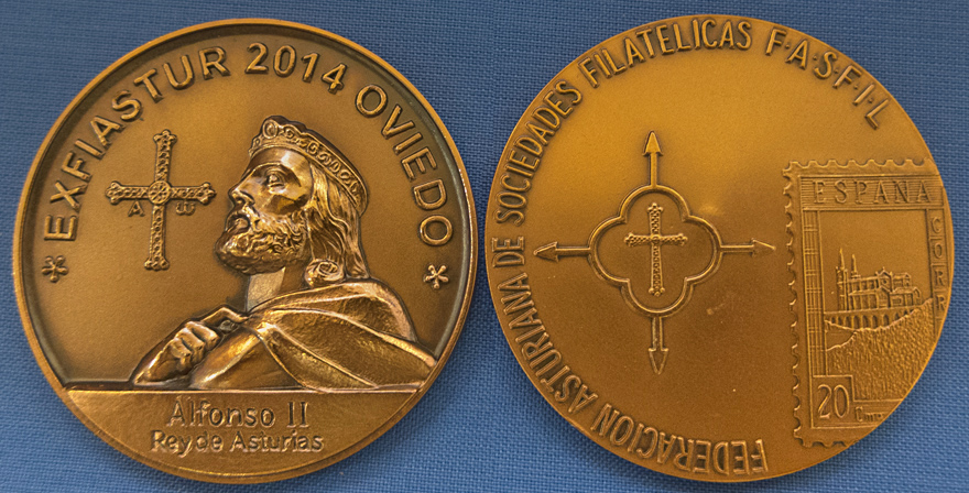 Medalla de EXFIASTUR 2014