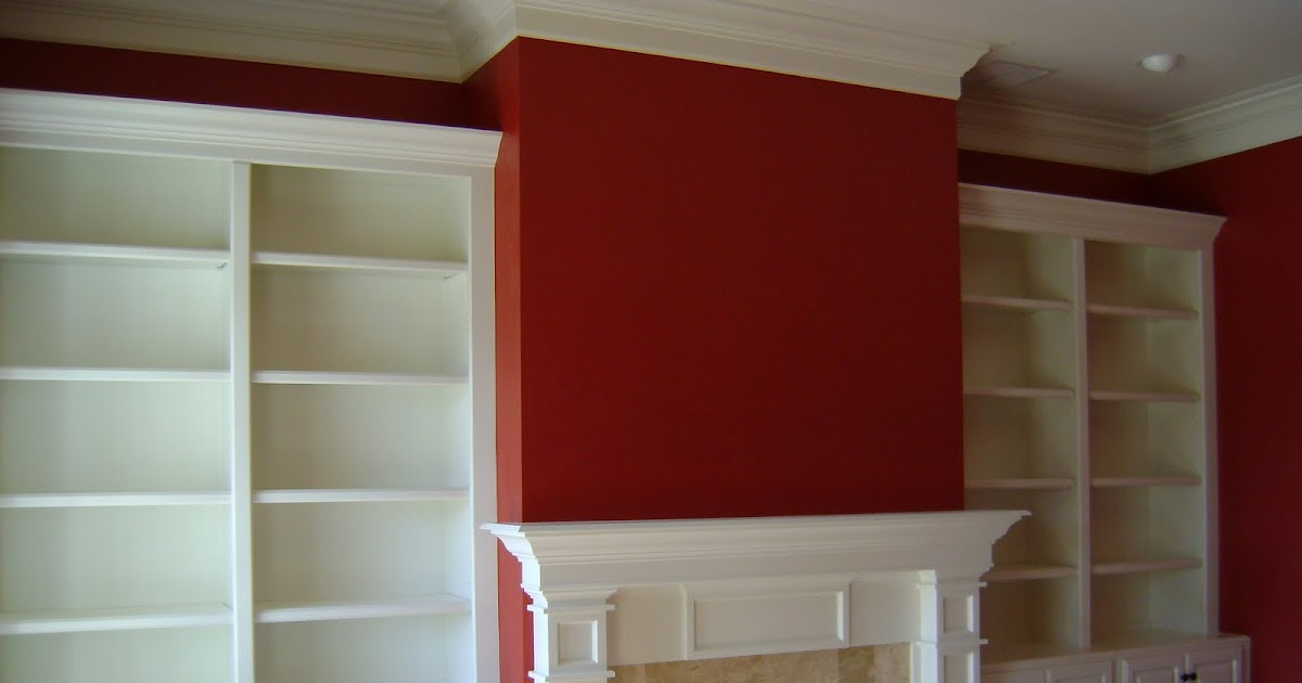 Ted Melrose Carpentry: Mantle with bookcase/cabinets