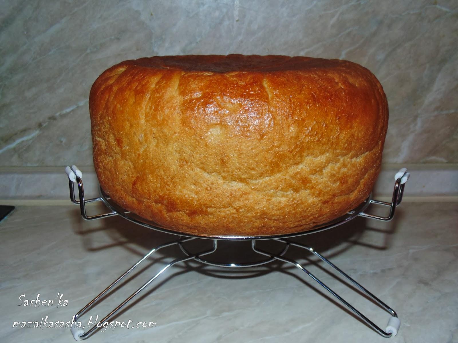 Хлеб в мультиварке поларис рецепт пошагово