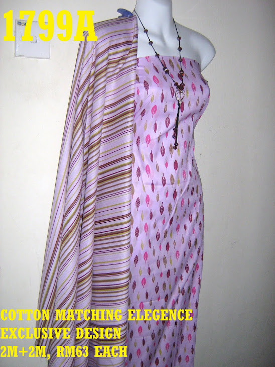 CME 1799A: COTTON MATCHING ELEGENCE, EXCLUSIVE DESIGN, 2M+2M