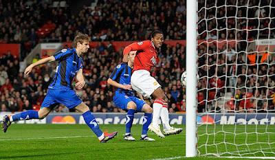 Manchester United 2 - 0 Otelul Galati (1)