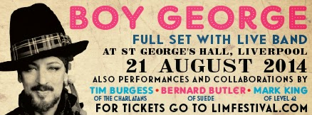 Boy George St Georges Hall Liverpool Steve Levine sessions review