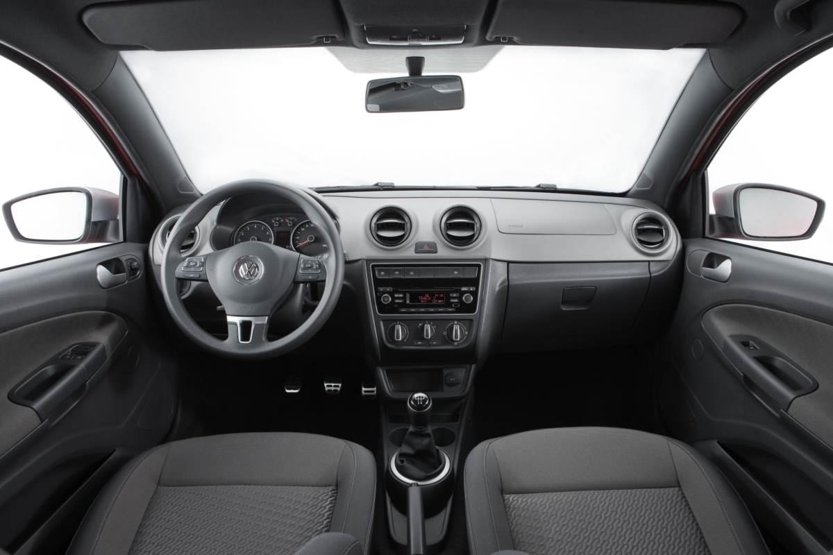 Volkwagen Gol G6 2014 - Rallye - interior