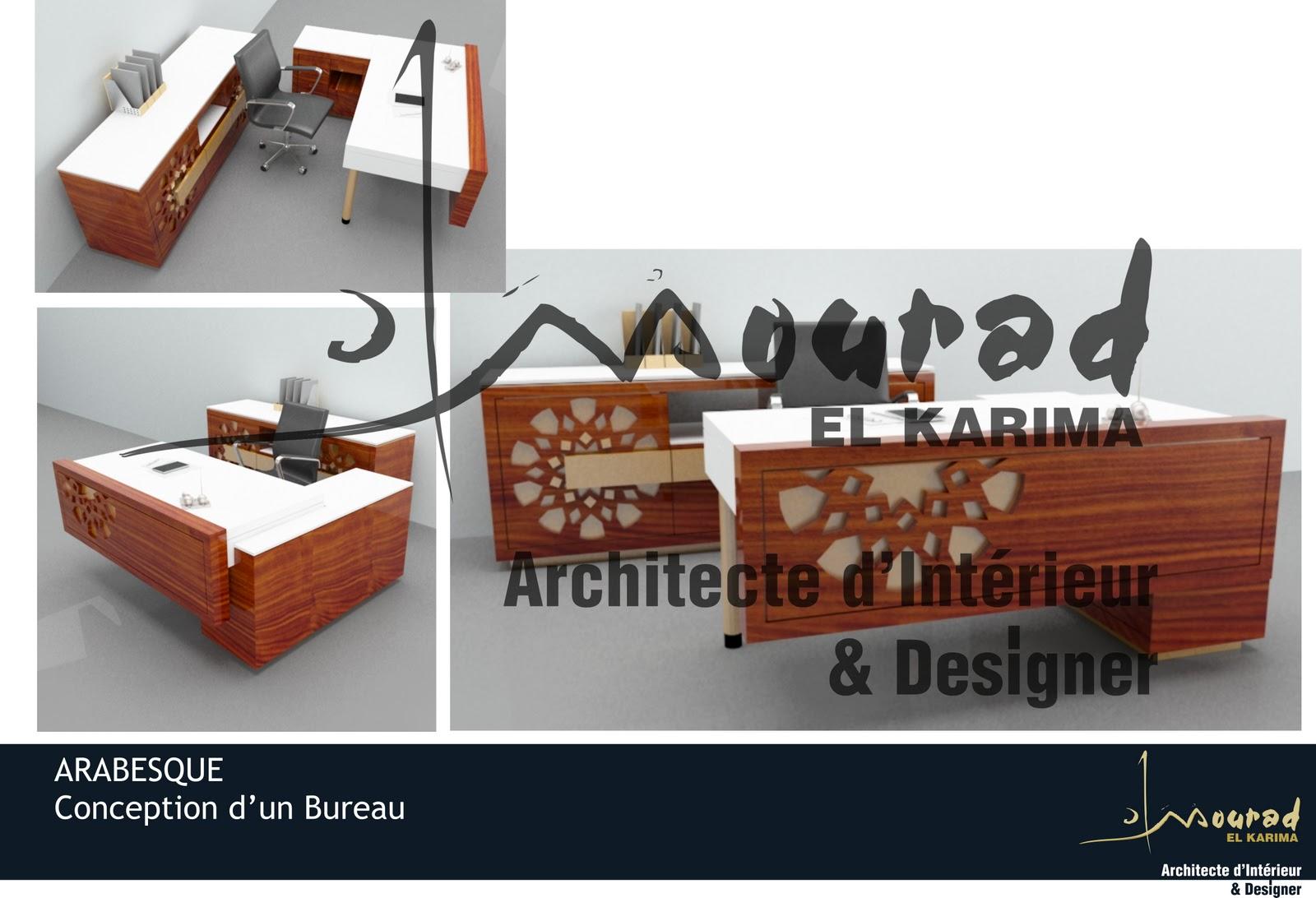 Bureau arabesque mourad el karima architecte d interieur