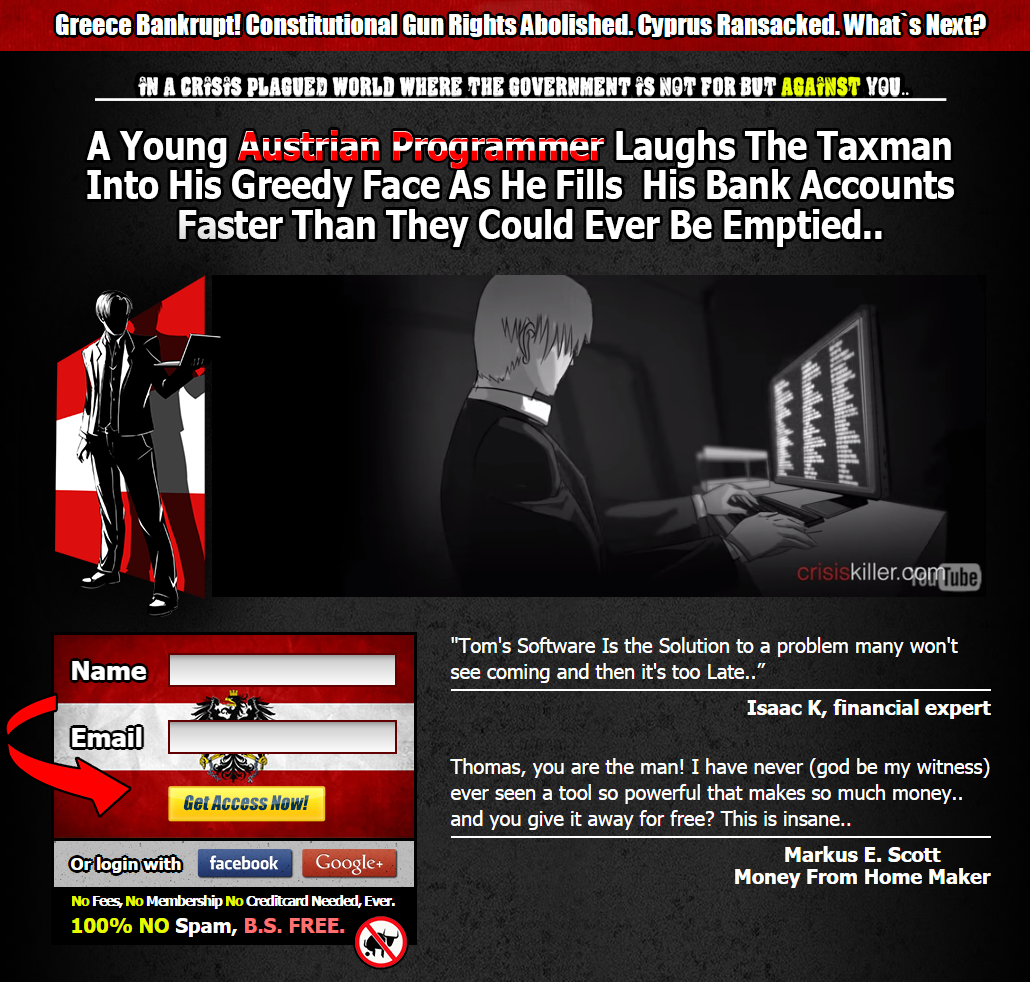 Crisis killer forex robot